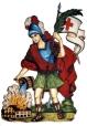 Der Heilige St. Florian Schutzpatron der Feuerwehr