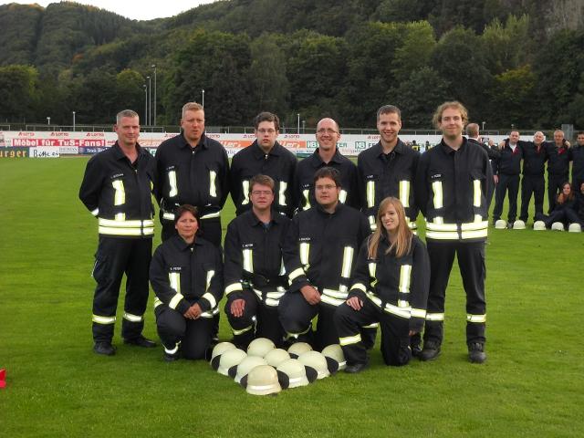 Die Wettkampfmannschaft aus Leihgestern in Koblenz.