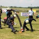 Zahlreiche Mannschaften aus Nah und fern lieferten sich in Leihgestern spannende Duelle.