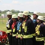 In einem sehr starken Teilnehmerfeld startetn auch die Feuerwehr Langgöns (GI) und Butzbach (FB) mit je einer neuen Mannschaft.