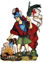 Heiliger St. Florian - Schutzpatron der Feuerwehr